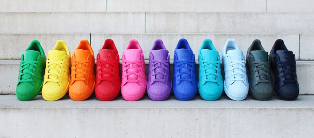 Superstar Shoe Colors